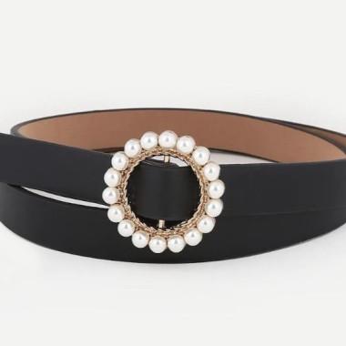 Shein Pearl Belt